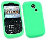 FLASH SUPERSTORE SAMSUNG CHAT CH@T 335 ( S3350 ) SILICON CASE/COVER/SKIN GREEN