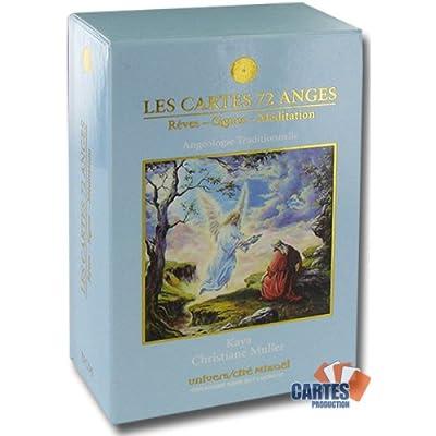 """Les cartes des 72 anges de  Christiane Muller<object width="""" 51wsFr6kbeL._SS400_"""