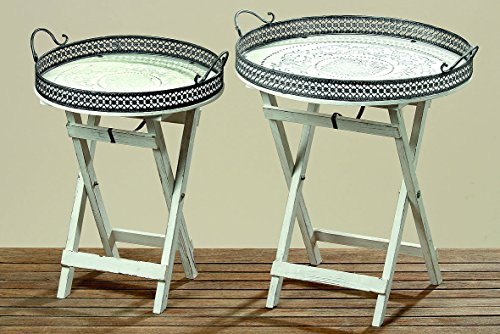 beistelltisch felina h60cm tisch gartentisch pflanztisch. Black Bedroom Furniture Sets. Home Design Ideas