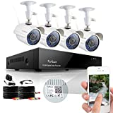 Funlux 8CH Surveillance Security Camera System QR...