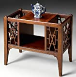 Magazine Rack - Chinese Chippendale Style Magazine Rack