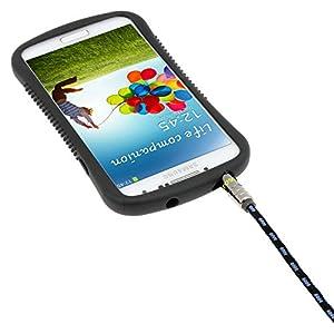 Cable de Audio iKross Auxiliar 3.5mm de 10 pies, cable renzado, negro