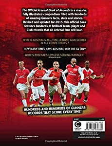 The Official Arsenal FC Book of Records from Carlton Books Ltd