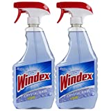 Windex Cleaners, Crystal Rain, 2 Count