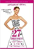 27 Dresses [DVD] [2008] [Region 1] [US Import] [NTSC]