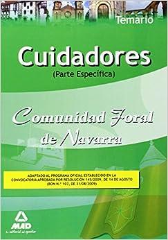 Cuidadores de la Comunidad Foral de Navarra. Temario parte Específica