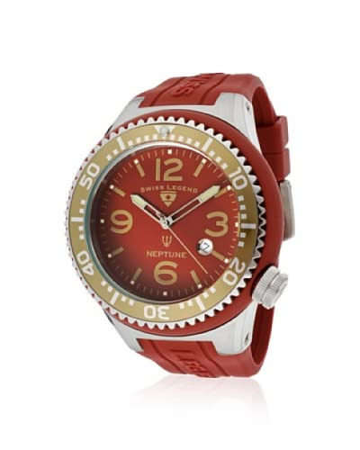 Swiss Legend Men's 21818S-C-BC Neptune Maroon Silicone Watch
