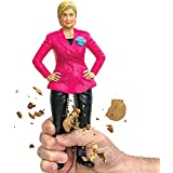 Hillary Clinton Political Novelty Nutcracker 2016 Presidential Crunch Time