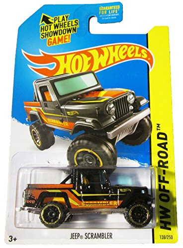 Hot Wheels - 2014 HW Off-Road 138/250 - HW Hot Trucks - Jeep Scrambler (black)