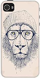 DailyObjects Cool Lion Case For iPhone 4/4S