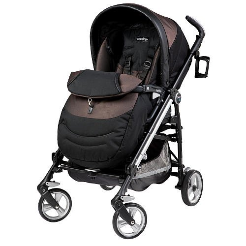 Peg Perego Switch Four Stroller Newmoon front-911808