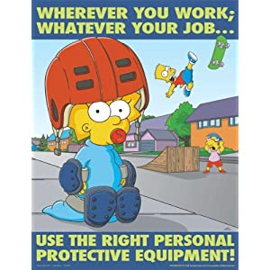 Usage of personal protective equipment