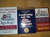 img - for 3 Books: Leadership and the One Minute Manager; The One Minute Apology; The One Minute Networker (One Minute Manager) book / textbook / text book