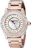 Betsey Johnson Women's BJ00301-03 Analog Display Quartz Rose Gold Watch