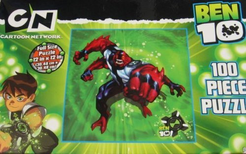 Ben 10 100 Piece Puzzles - Four Arms