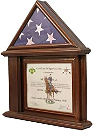 DECOMIL Flag Display Case with Certif…