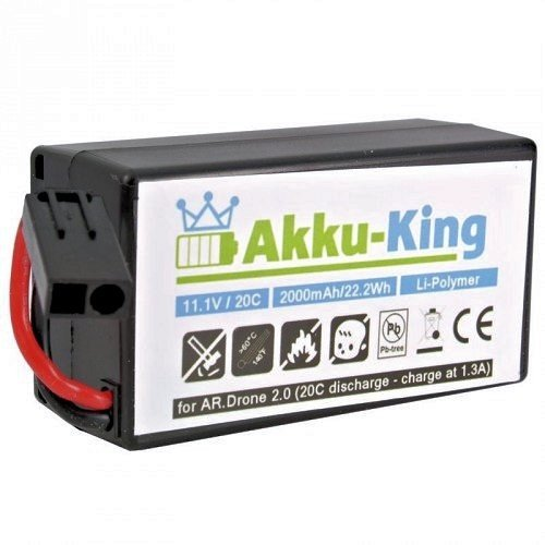 Akku-King HD- Akku für Parrot AR.Drone