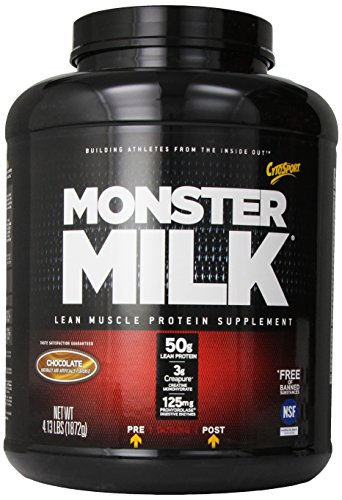 Cytosport Monster Milk, Chocolate, 4.13 Lbs (1872 G). front-20536