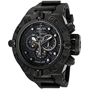 Buy Invicta Mens 6582 Subaqua Noma IV Stainless Steel and Black Polyurethane Watch by Invicta