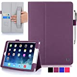 iPad Air 2 Case - KAYSCASE FlipStand Case Compatible with Apple iPad Air 2 case, 6th Generation (2014 Release) 9.7 inch tablet with Sleep/Wake Function (Lifetime Warranty) (Purple)