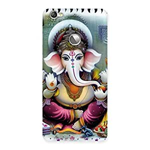 Cute Ganesha Blessings Back Case Cover for LeTV Le 1s