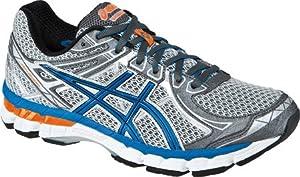 ASICS Men's GT 2000 2 Running Shoe,Titanium/French Blue/Lightning,10.5 M US