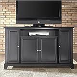 "Crosley Furniture Newport 60"" TV Stand in Black Finish"