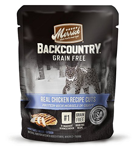 Merrick Backcountry Real Chicken Recipe Cuts