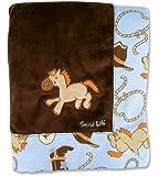 Trend Lab Framed Receiving Blanket, Cowboy Baby