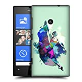 Head Case Tilt Jump Dance Splash Protective Back Case Cover For Nokia Lumia 520