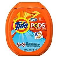 Tide PODS Ocean Mist HE Turbo Laundry Detergent Pacs 81-load Tub
