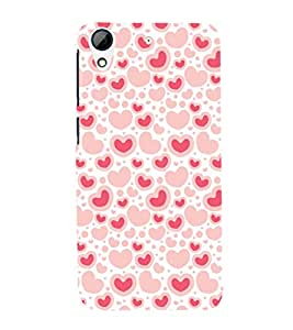 GADGET LOOKS PRINTED BACK COVER FOR HTC DESIRE 626G MULTICOLOR