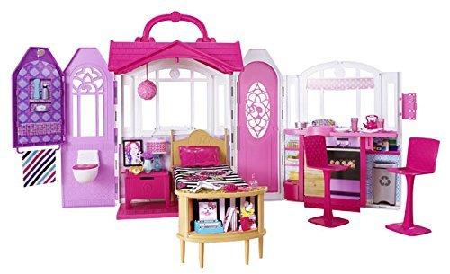 Barbie - Chf54 - Maison De Poupée - Ma Maison À Emporter Barbie