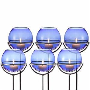 leonardo gartenlicht blau ball gla ball k che. Black Bedroom Furniture Sets. Home Design Ideas