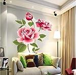 Rose Flower Vinyl Home decor Wall Art...