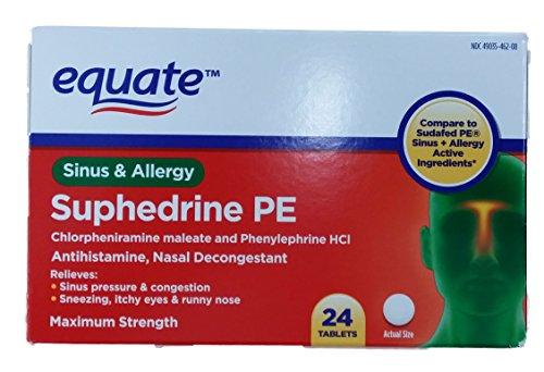 Assimiler Suphedrine PE Maximum Strength Sinus et