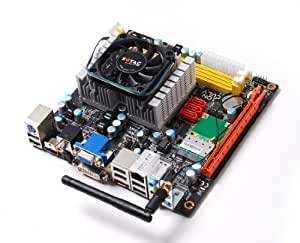 Zotac Intel Celeron 743 1.3GHz Single-Core Mini ITX Intel Motherboard IONITX-N-E