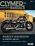 Harley-Davidson Xl883 Xl1200 Sportster 2004-2013 (Clymer Manuals: Motorcycle Repair) Clymer Staff
