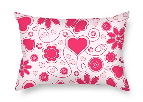 Slimmingpiggy 16 X 24 Inches / 40 By 60 Cm Love Throw Pillow Case,both Sides Is Fit For Girls,birthday,shop,couch,boy Friend,festival