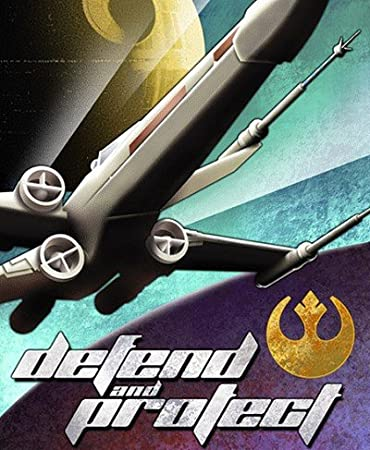 Defend And Protect Art Deco Poster by Mike Kungl