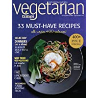 1-Yr (9 issues) of Vegetarian Times Magazine Subscription