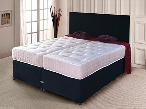 Cheap Price 5ft & 6ft Luxury Zip & Link Divan Bed Sets with Pocket