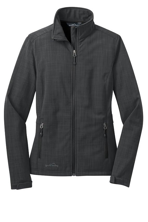 Eddie Bauer Women's Polyester Shaded Crosshatch Soft Shell Jacket