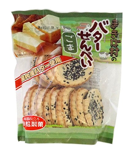 komatsu-confectionery-ranch-village-butter-crackers-sesame-15-sheets-x10-bags-of