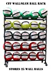 CFF Five Tier Med Ball rack Holds up…