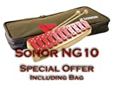 Sonor NG10 Soprano Glockenspiel INCLUDING Premium Bag, Beaters and Replacement Sound Bars!!! *Free shipping to UK and Germany!*