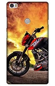 iessential bike Designer Printed Back Case Cover for Xiaomi Mi Max Prime