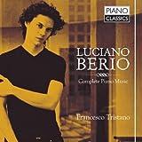 Berio: Sämtliche Klaviermusik
