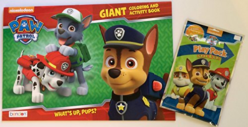 Paw Patrol Giant Coloring and Activity Book and Play Pack - 1