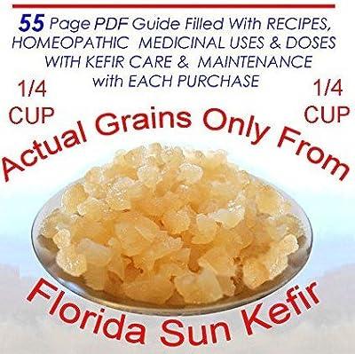 Live, Organic Water Kefir Grains